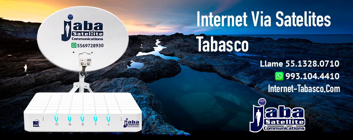 Internet Satelital Tabasco