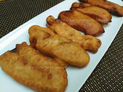 Pazham Pori - Banana Fritters - Ethakka Appam