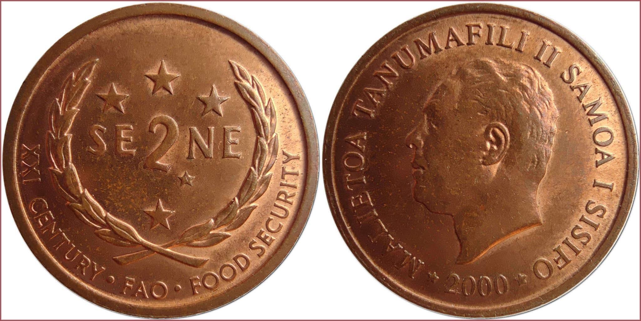 2 sene, 2000: Western Samoa (Independent State of Samoa)