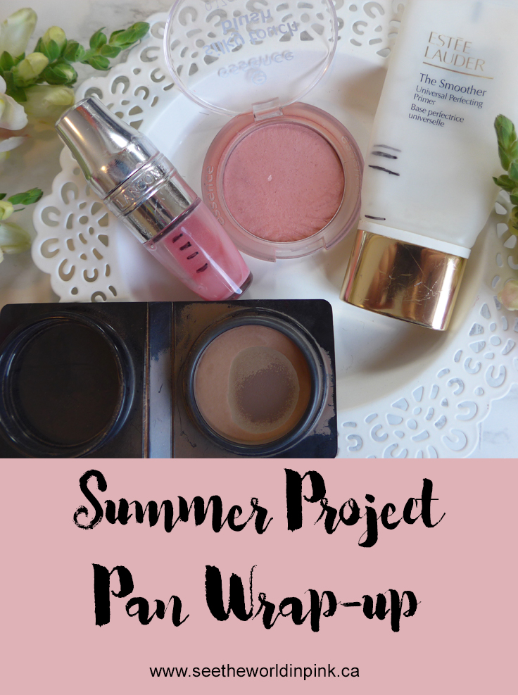 End of Summer Project Pan Wrap-up!