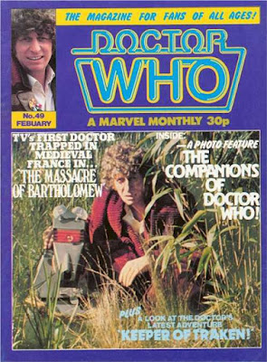 Doctor Who Monthly #49, Tom Baker