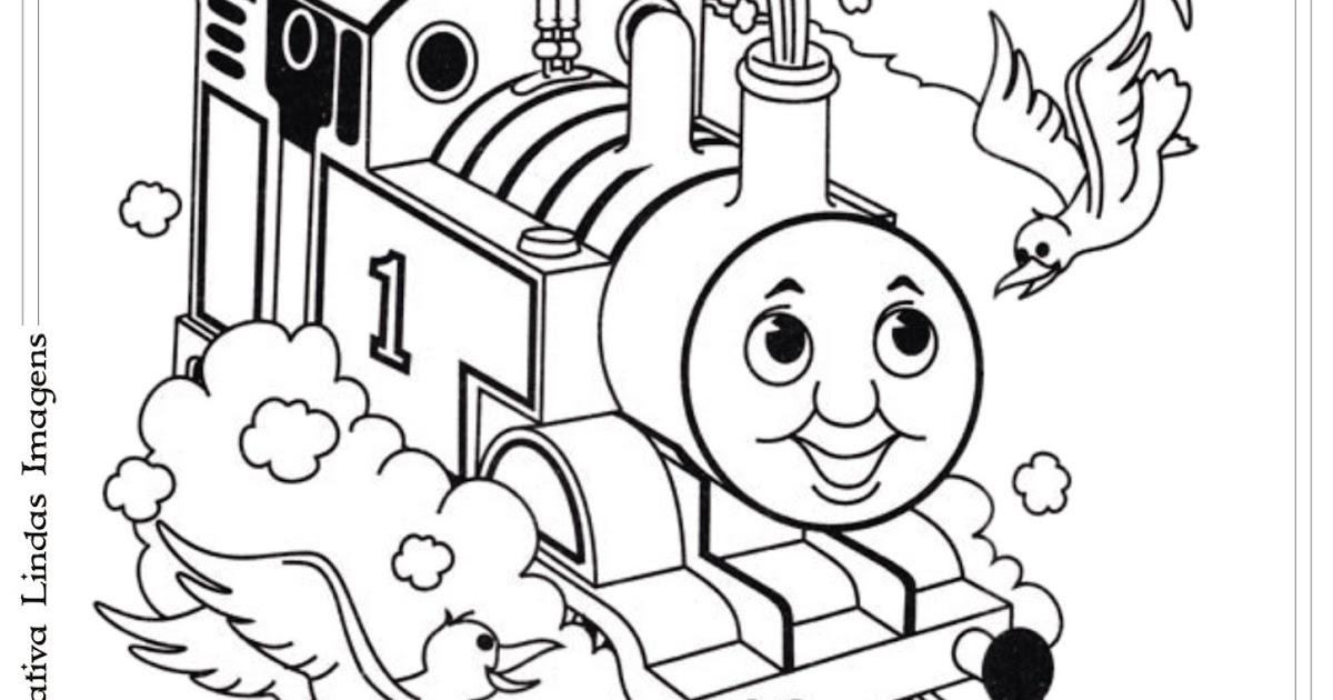 Desenho Thomas E Seus Amigos Para Colorir