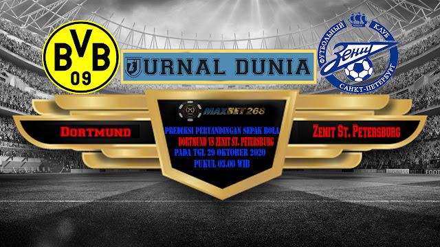 Prediksi Borussia Dortmund Vs Zenit Saint Petersburg, Kamis 29 Oktober 2020 Pukul 03.00 WIB