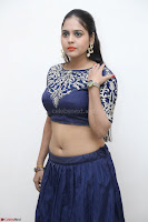 Ruchi Pandey in Blue Embrodiery Choli ghagra at Idem Deyyam music launch ~ Celebrities Exclusive Galleries 023.JPG