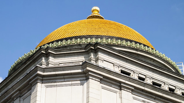 Architecture Buffalo: Gold dome of Buffalo Savings Bank