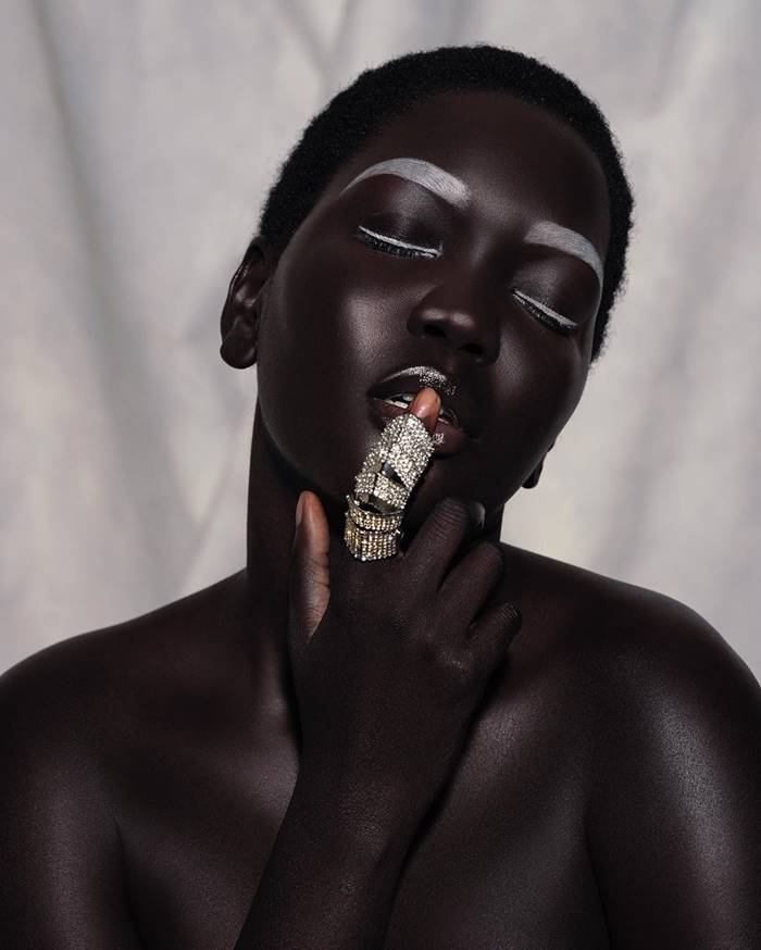 Nyakim Gatwech Model-queen-of-dark