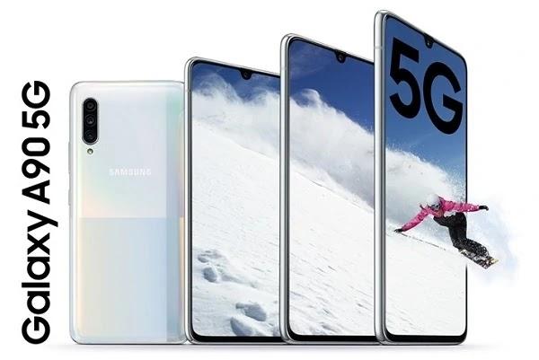 Samsung presenta el Galaxy A90 con procesador de gama alta y conectividad 5G