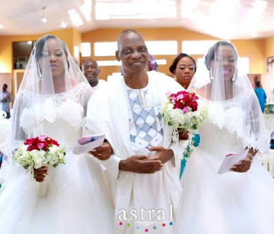 Beautiful Photos And Details From The Wedding Of Twins Taiwo and Kehinde Alli