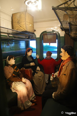 Mulhouse Museo Ferroviario - Interno carrozza