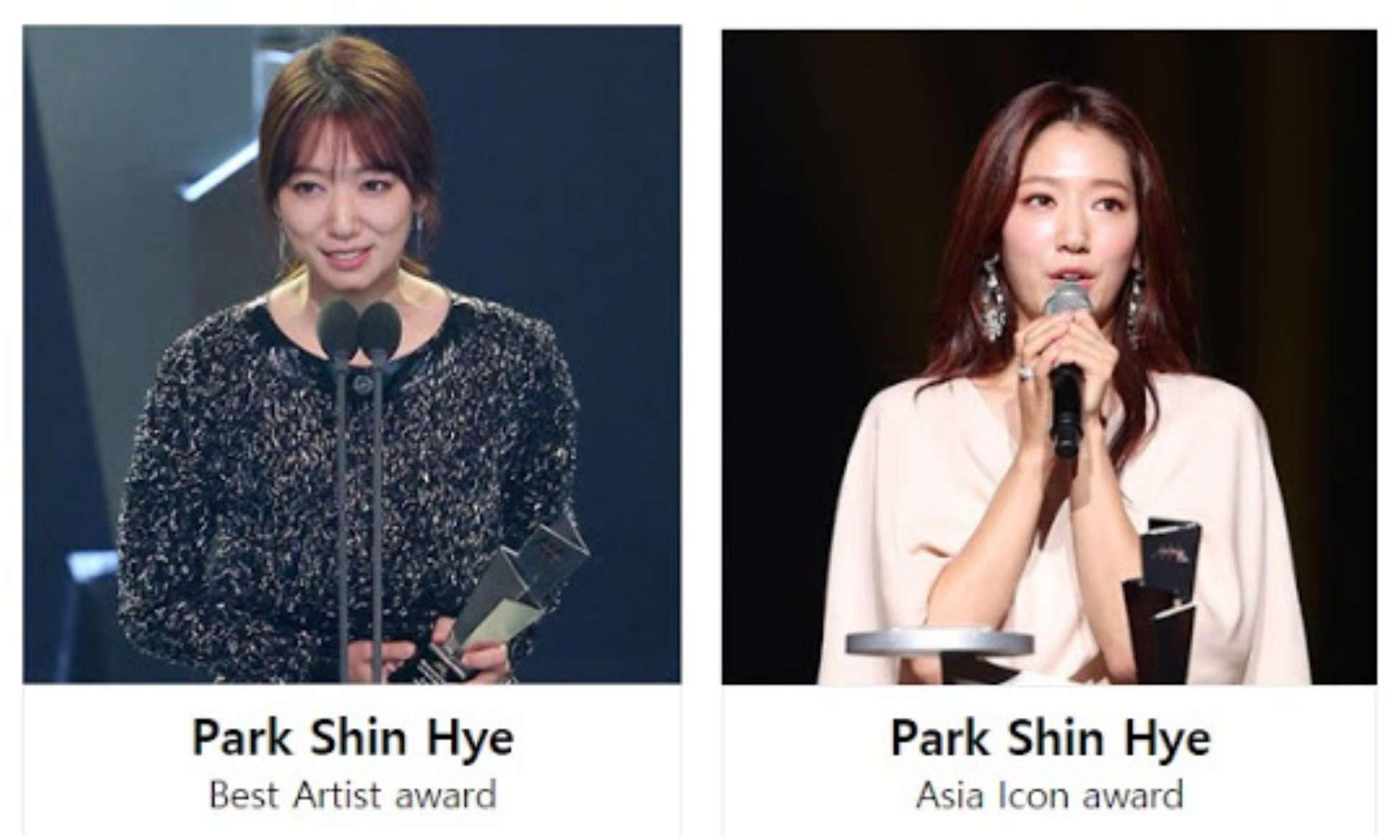 Ë°•ì‹í˜œ ͎˜ì´ìŠ¤ë¶ Blog Vote Park Shin Hye On 2020 Asia Artist Awards