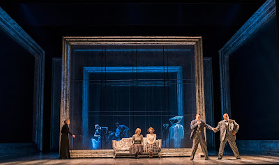 Barber: Vanessa - Rosalind Plowright, Emma Bell, Virgine Verrez, Edgaras Montvidas, Donnie Ray Albert - Glyndebourne (Photo Tristram Kenton)
