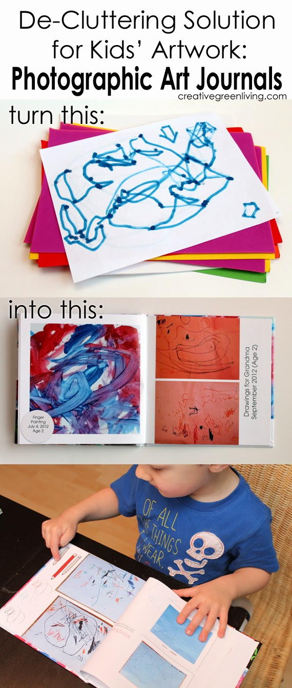 easy ways to preserve your childs art