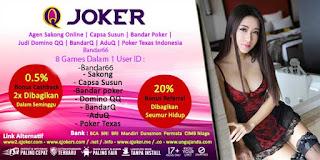Tips Bermain Bandar66 QJoker Agen Judi Online Terpercaya - www.Sakong2018.com