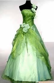 foto de vestido de noiva verde - dicas e modelos