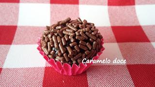 brigadeiro blog caramelo doce