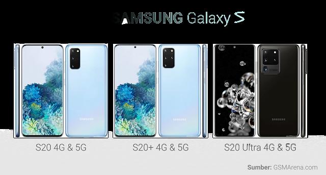 Ulasan Harga Samsung Galaxy S20 Terbaru