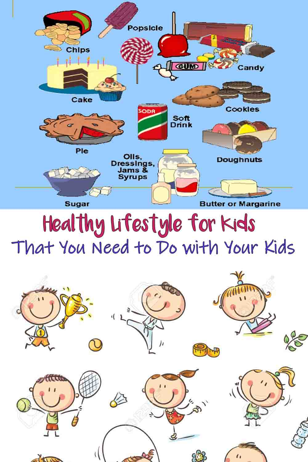 Healthy Lifestyle for Kids That You Need to Do with Your Kids