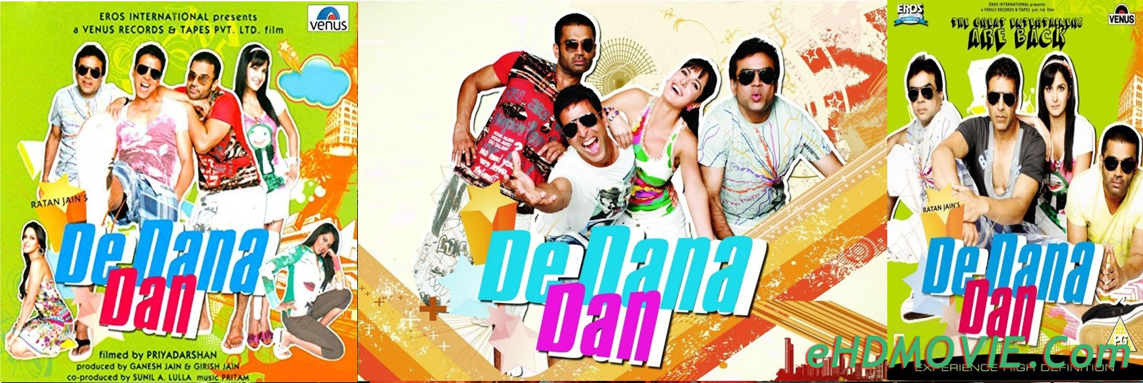 De Dana Dan 2009 Full Movie Hindi 720p – 480p ORG BRRip 500MB – 900MB - 1.7GB ESubs Free Download