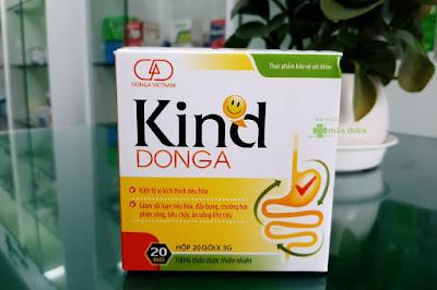 Kind DongA, giảm rối loạn tiêu hóa, tiêu chảy