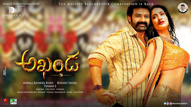 Balakrishna Pragya Jaiswal romantic akhanda movie posters _ 7