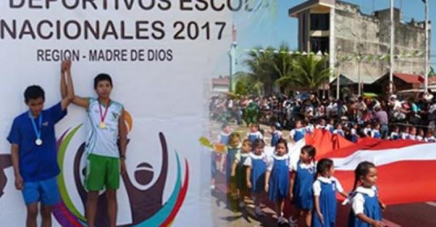 DRE Madre de Dios cancela desfile escolar de fiestas patrias y suspende etapa regional de Juegos Florales por huelga del magisterio