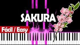 Sakura, Sakura - Piano PDF - Notas musicales