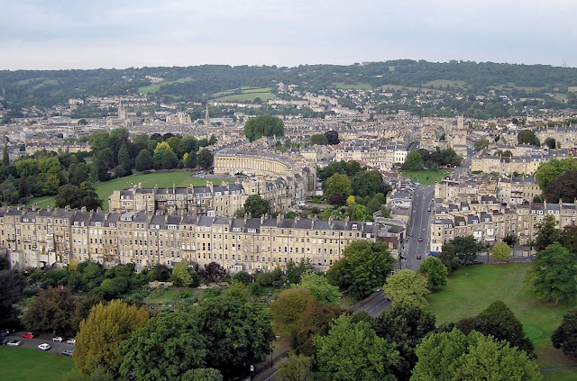 Why is the city of Bath famous?