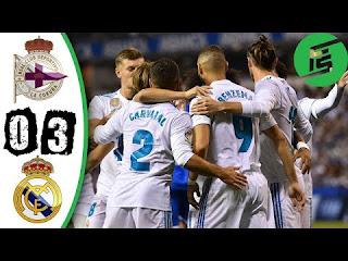 Deportivo La Coruna vs Real Madrid 0-3 Video Gol & Highlights