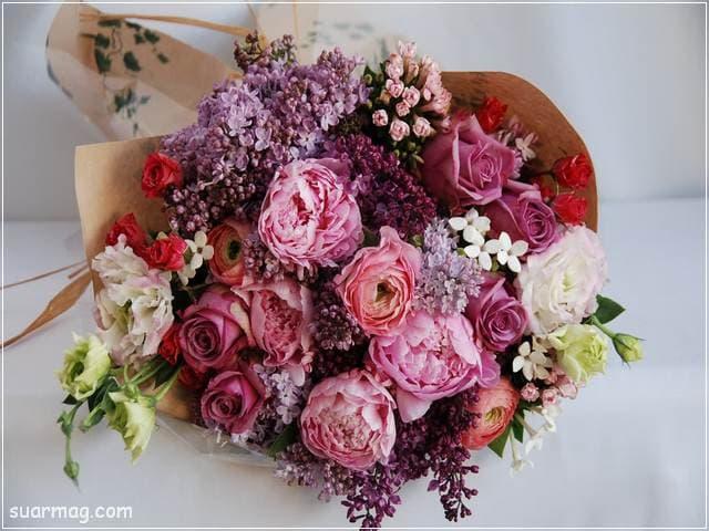 اجمل بوكيه ورد 18   best flowers bouquet 18