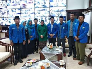 Silaturahami PMII Cabang Surabaya Dan Tri Rismaharini