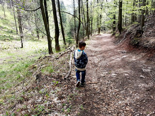 Borowa z dzieckiem - Góry Wałbrzyskie - podróże z dzieckiem - aktywnie z dzieckiem - podróże w czasie pandemii - koronawirus czy mogę iść do lasu albo jechać w góry - Polska z dzieckiem - Dolny Śląsk - tunel pod Małym Wołowcem - najdłuższy tunel kolejowy w Polsce - Pałac Jedlinka