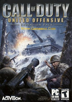 Call Of Duty United Offensive Expansion Game Cover