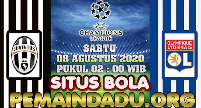 Prediksi Liga Champions Antara Juventus Vs Lyon 8 Agustus 2020