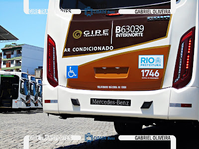 Foto Ônibus Mercedes-Benz