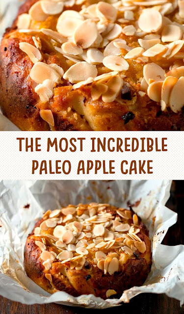 THE MOST INCREDIBLE PALEO APPLE CAKE