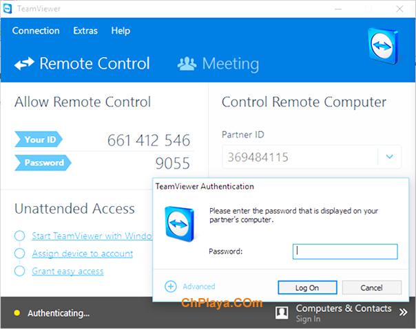 Tải TeamViewer 12 - Phần mềm điều khiển PC miễn phí b