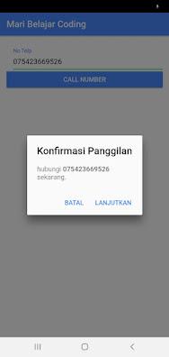 Membuat Aplikasi Call Number Menggunakan Ionic