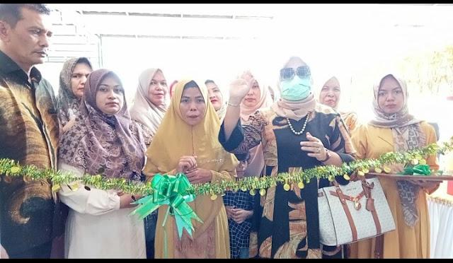 Bermodalkan Pengalaman Mertua, Hj Rizayati Launching IRJ Pelaminan