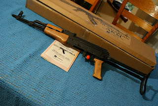 remington 870: Hungarian SA85M AK-47 KASSNAR AKM Underfolder