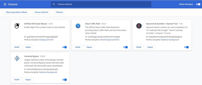 cara mengaktifkan internet download manager di google chrome
