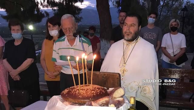 Εσπερινός του Προφήτη Ηλία στον Ίναχο Αργολίδας