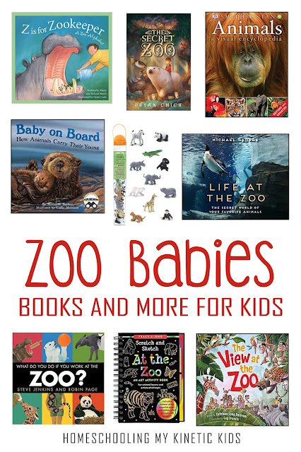 Great books to learn more about zoo animals.  Perfect to read before your family vacation to the zoo or for a unit on animals of the world.