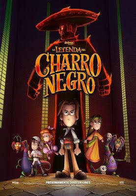 La Leyenda Del Charro Negro [2017] [DVD] [R4] [NTSC] [Latino]