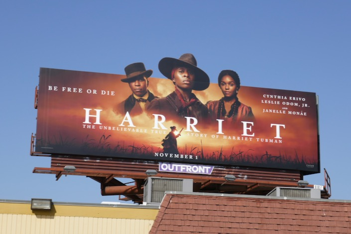 Harriet Tubman movie billboard