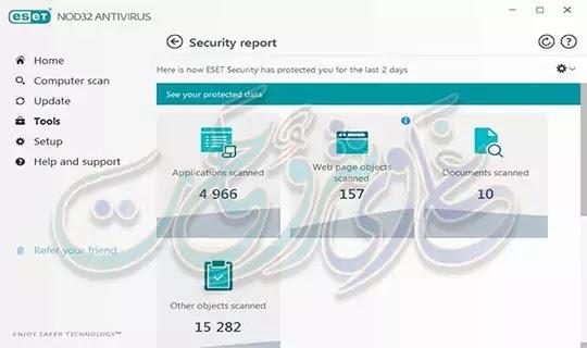 يعد برنامج Eset Nod32 antivirus 2019 من افضل برامج الحماية