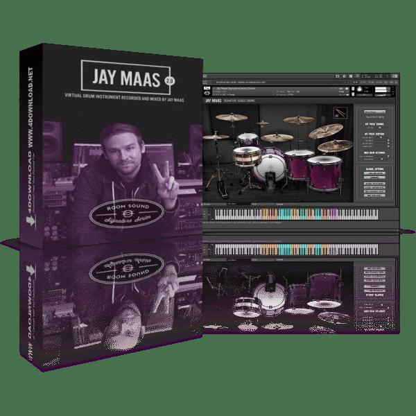 Jay Maas Signature Series Drums 2.0 KONTAKT Library
