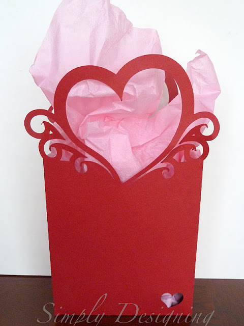 Vday+Bag Valentine's Day Bag with Silhouette 5