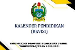 Kalender Pendidikan (Kaldik) 2021/2022 Provinsi Sumatera Utara (Sumut) (PDF)