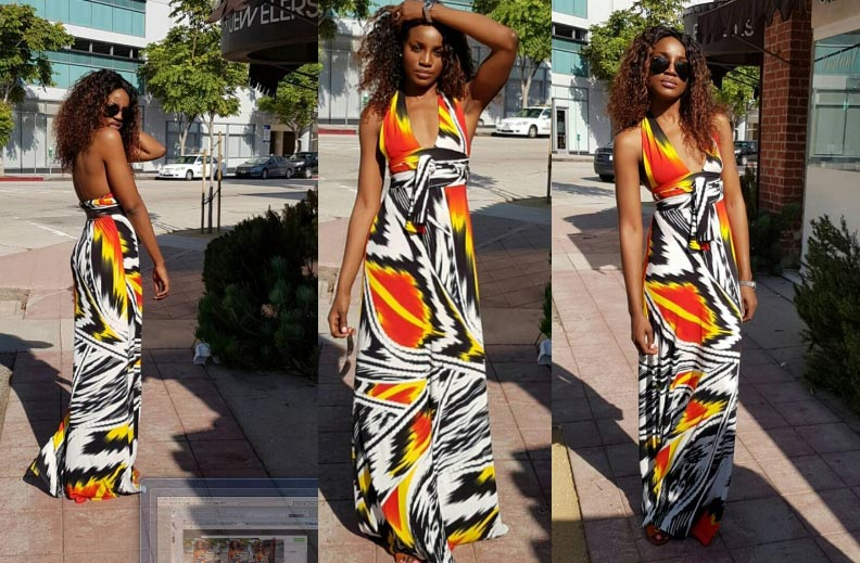 Seyi Shay steps out in lovely outfit in Los Angeles