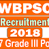Apply Online for WBPSC 2018 Recruitment | 957 Grade-III Posts